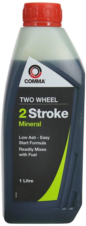 Масло моторное минеральное TWO WHEEL 2 STROKE MINERAL, 1л