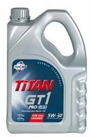 Масло моторное синтетическое TITAN GT1 PRO GAS 5W-30, 4л