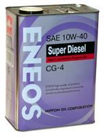 Масло моторное полусинтетическое SUPER DIESEL CG-4 10W-40, 4л