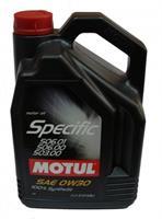 Масло моторное синтетическое Specific VW 506.01-506.00-503.00 0W-30, 5л