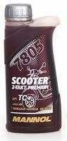 Масло моторное синтетическое 2-Takt Scooter Premium 30, 0.5л