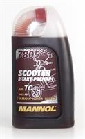 Масло моторное синтетическое 2-Takt Scooter Premium 30, 1л