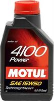 Масло моторное полусинтетическое 4100 POWER 15W-50, 1л