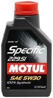 Масло моторное синтетическое Specific MB 229.51 5W-30, 1л