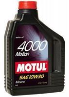 Масло моторное минеральное 4000 MOTION 10W-30, 2л