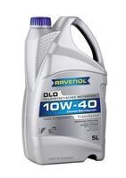 Масло моторное полусинтетическое Teilsynthetic Dieseloel DLO 10W-40, 5л