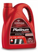 Масло моторное синтетическое Platinum Classic Diesel Synthetic 5W-40, 4.5л