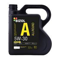 Масло моторное синтетическое Allround 5W-30, 4л