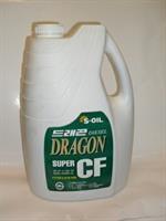 Масло моторное полусинтетическое Dragon Super Diesel CF 10W-30, 6л