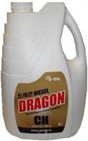 Масло моторное полусинтетическое DIESEL CH-4 15W-40, 6л