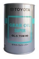 Масло трансмиссионное синтетическое Gear Oil Super 75W-90, 1л