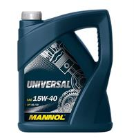 Масло моторное минеральное UNIVERSAL 15W-40, 5л