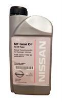 Масло трансмиссионное полусинтетическое MT Gear OIl TL/JR Type 75W-80, 1л