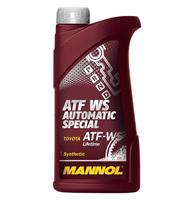 Масло трансмиссионное синтетическое Automatic Special ATF WS, 1л