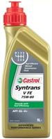 Масло трансмиссионное синтетическое Syntrans V FE 75W-80, 1л
