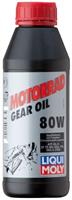 Масло трансмиссионное минеральное Motorrad Gear Oil 80W, 0.5л