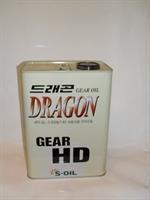 Масло трансмиссионное минеральное Gear HD 85W-140, 4л