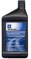 Масло трансмиссионное полусинтетическое SYNCHROMESH TRANSMISSION FLUID, 1л