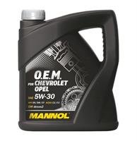 Масло моторное синтетическое 7701 O.E.M. for Chevrolet Opel 5W-30, 4л
