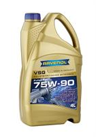 Масло трансмиссионное синтетическое VSG 75W-90, 4л
