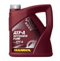 Масло трансмиссионное минеральное ATF-A AUTOMATIC FLUID, 4л