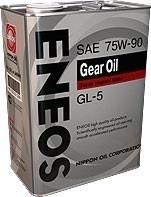 Масло трансмиссионное GEAR GL-5 75W-90, 4л