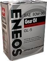 Масло трансмиссионное GEAR GL-5 80W-90, 1л