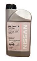 Масло трансмиссионное полусинтетическое MT Gear OIl TL/JR Type 75W-80, 0.946л