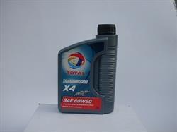 Масло трансмиссионное минеральное TRANSMISSION X4 80W-90, 1л