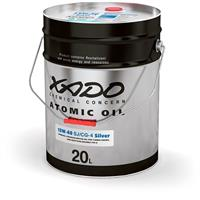 Масло трансмиссионное минеральное Atomic Oil GL 3/4/5 80W-90, 20л