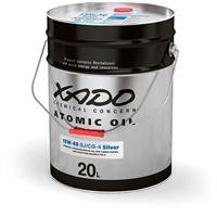 Масло трансмиссионное синтетическое Atomic Oil ATF III/IV/V, 20л