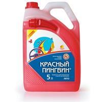 Жидкость летняя, готовая к применению Красный пингвин, 5л