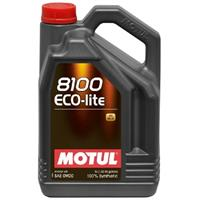 Масло моторное синтетическое 8100 Eco-lite 0W-20, 4л