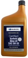 Масло моторное синтетическое SYNTHETIC OIL 5W-30, 0.946л