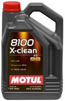 Масло моторное синтетическое 8100 X-clean 5W-30, 5л