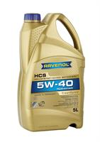 Масло моторное синтетическое HCS 5W-40, 5л