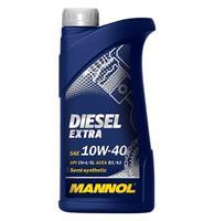 Масло моторное полусинтетическое DIESEL EXTRA 10W-40, 1л