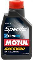 Масло моторное синтетическое Specific Dexos2 5W-30, 1л
