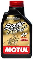 Масло моторное синтетическое Scooter Power 4T 5W-40, 1л