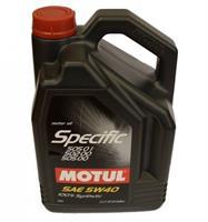 Масло моторное синтетическое Specific VW502.00-505.00-505.01 5W-40, 5л