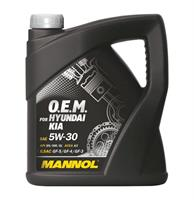 Масло моторное синтетическое 7713 O.E.M. for Hyundai Kia 5W-30, 4л