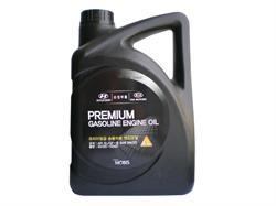 Масло моторное полусинтетическое Premium Gasoline 5W-20, 4л