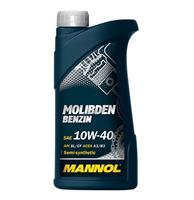 Масло моторное полусинтетическое MOS Benzin 10W-40, 1л