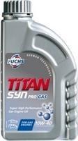 Масло моторное полусинтетическое TITAN SYN PRO GAS 10W-40, 1л