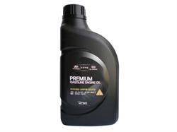 Масло моторное полусинтетическое Premium Gasoline 5W-20, 1л