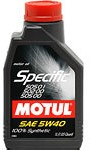 Масло моторное синтетическое Specific VW502.00-505.00-505.01 5W-40, 1л