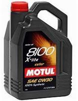 Масло моторное синтетическое 8100 X-lite 0W-30, 5л