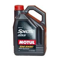 Масло моторное синтетическое Specific MB 229.51 5W-30, 5л