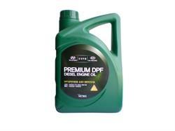 Масло моторное синтетическое Premium DPF Diesel 5W-30, 6л